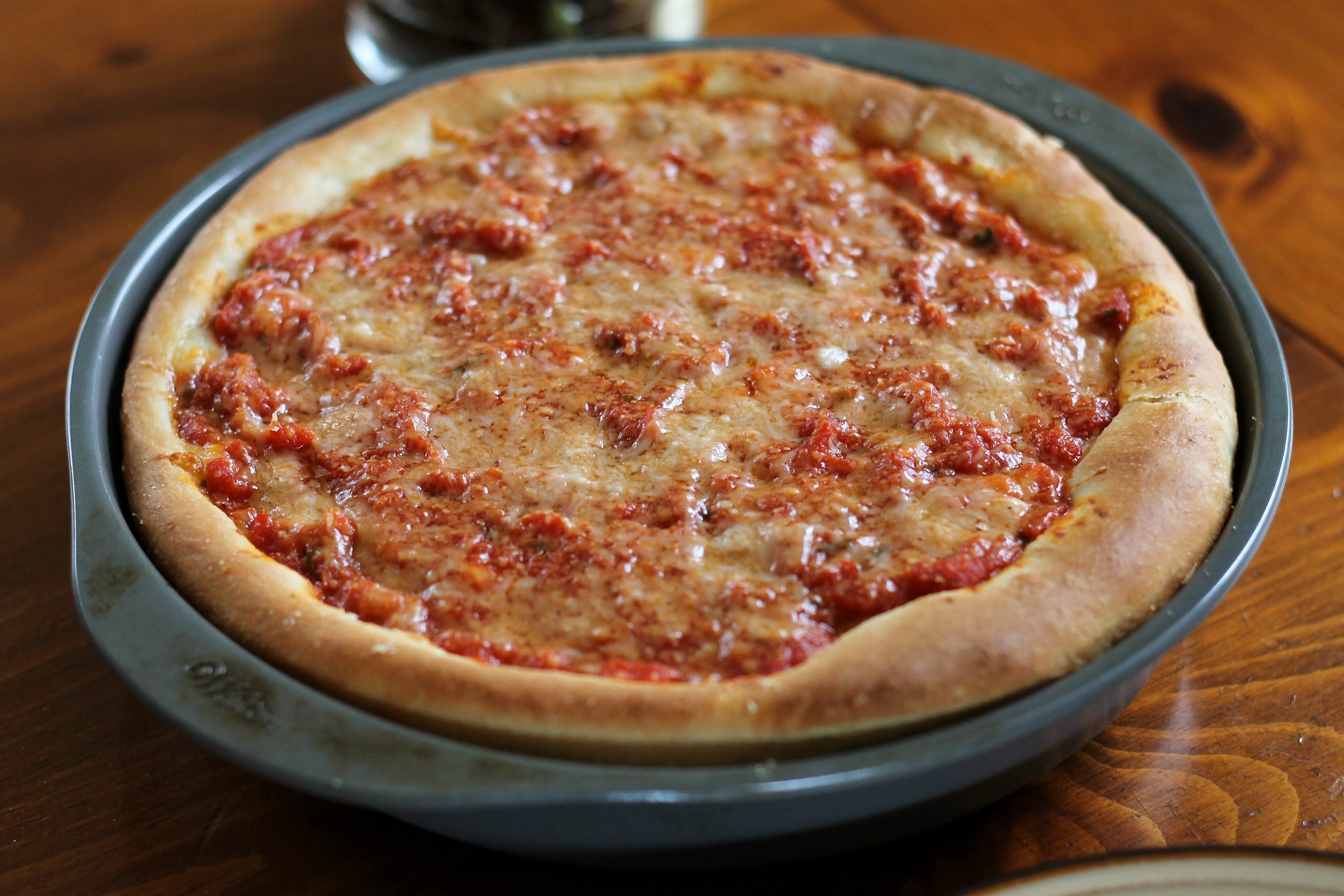 Chicago-Style Deep-Dish Pizza | We Like Two Cook