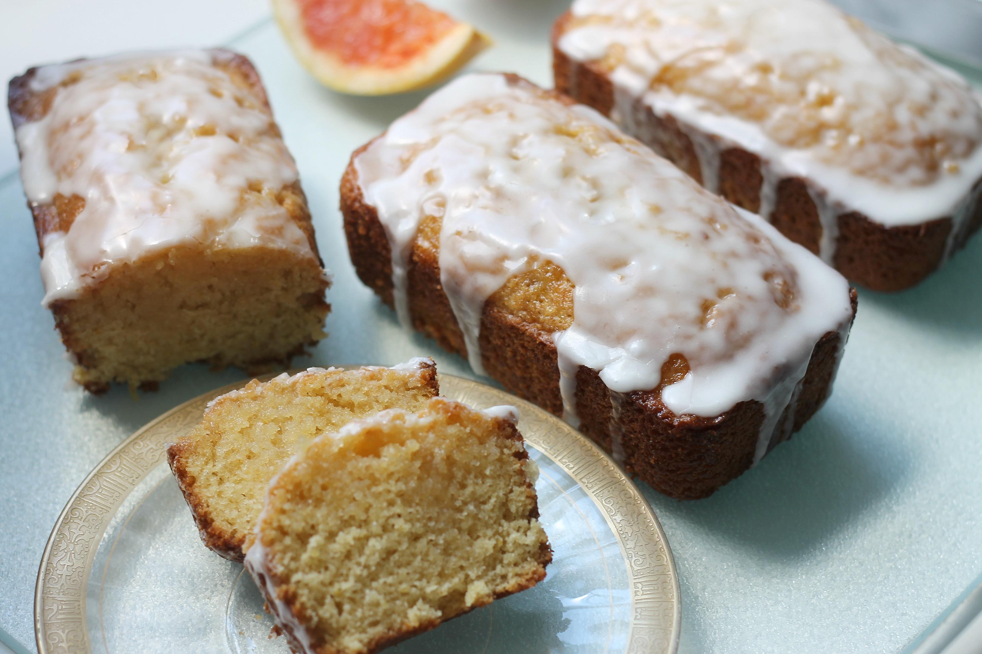 Grapefruit Olive Oil Pound Cake Recipe