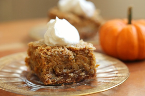 Pumpkin Pie Bars 1