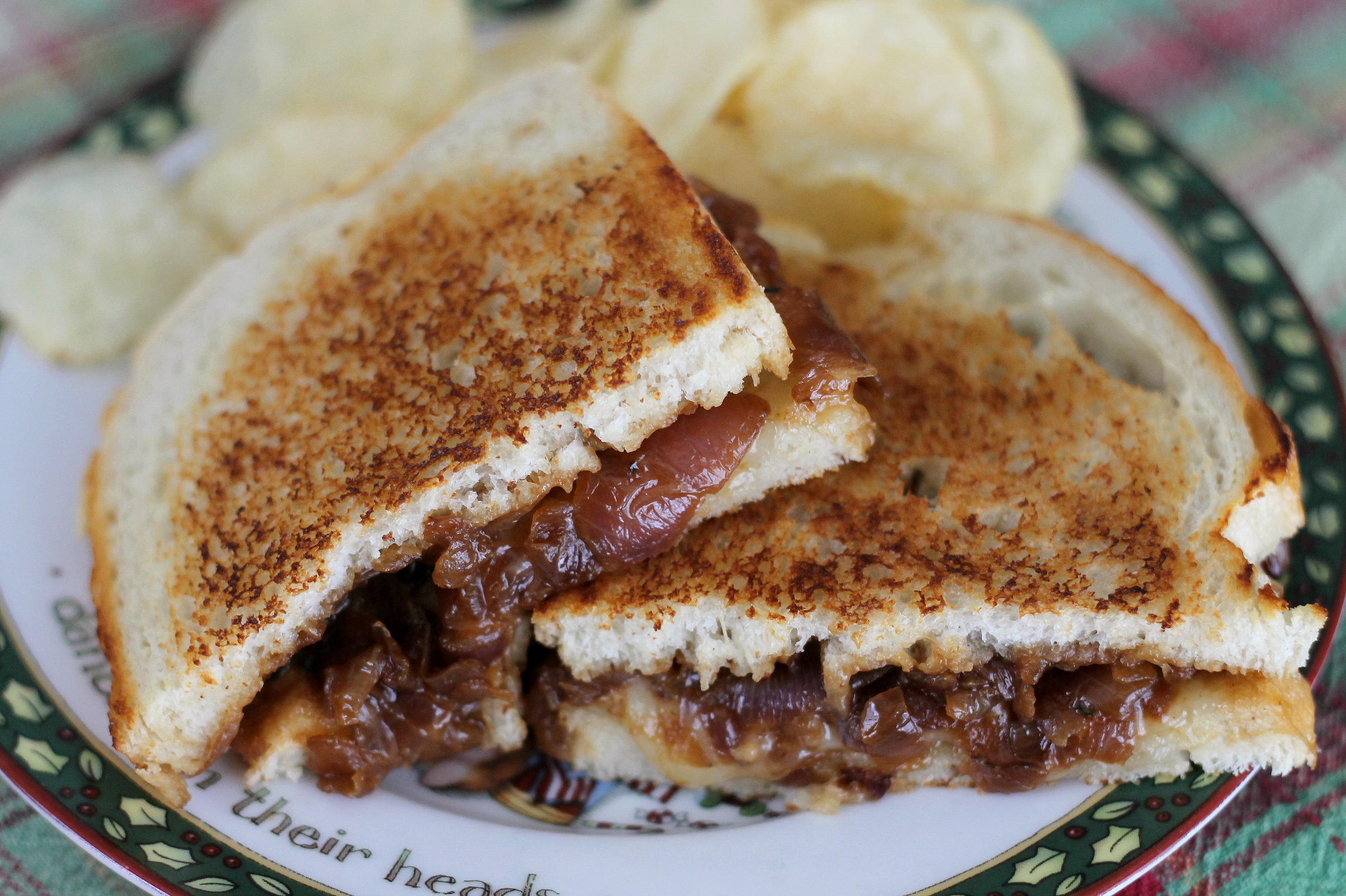 French Onion Soup Sandwiches