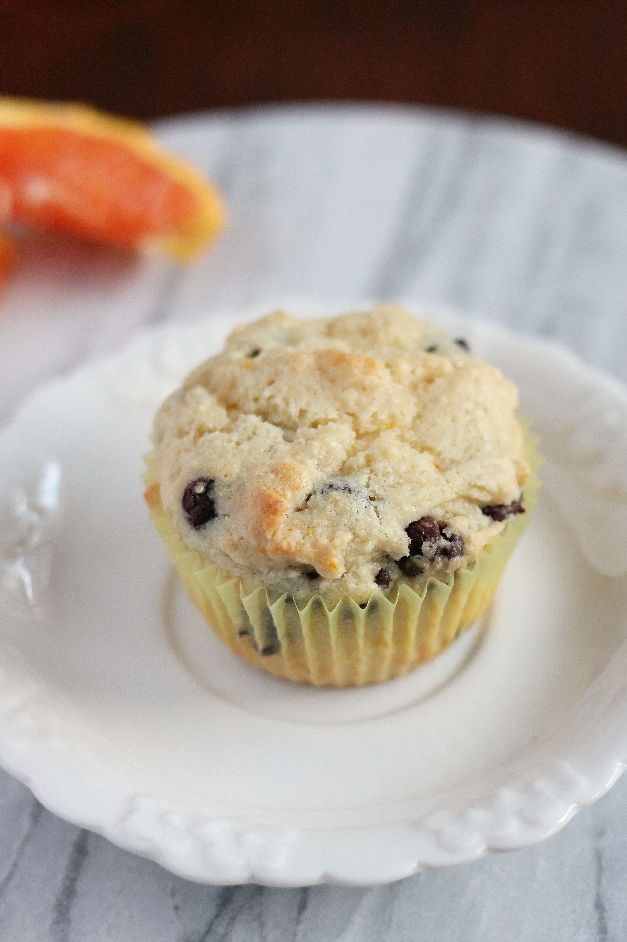 Orange Ricotta Chocolate Chip Muffins Recipe — Dishmaps
