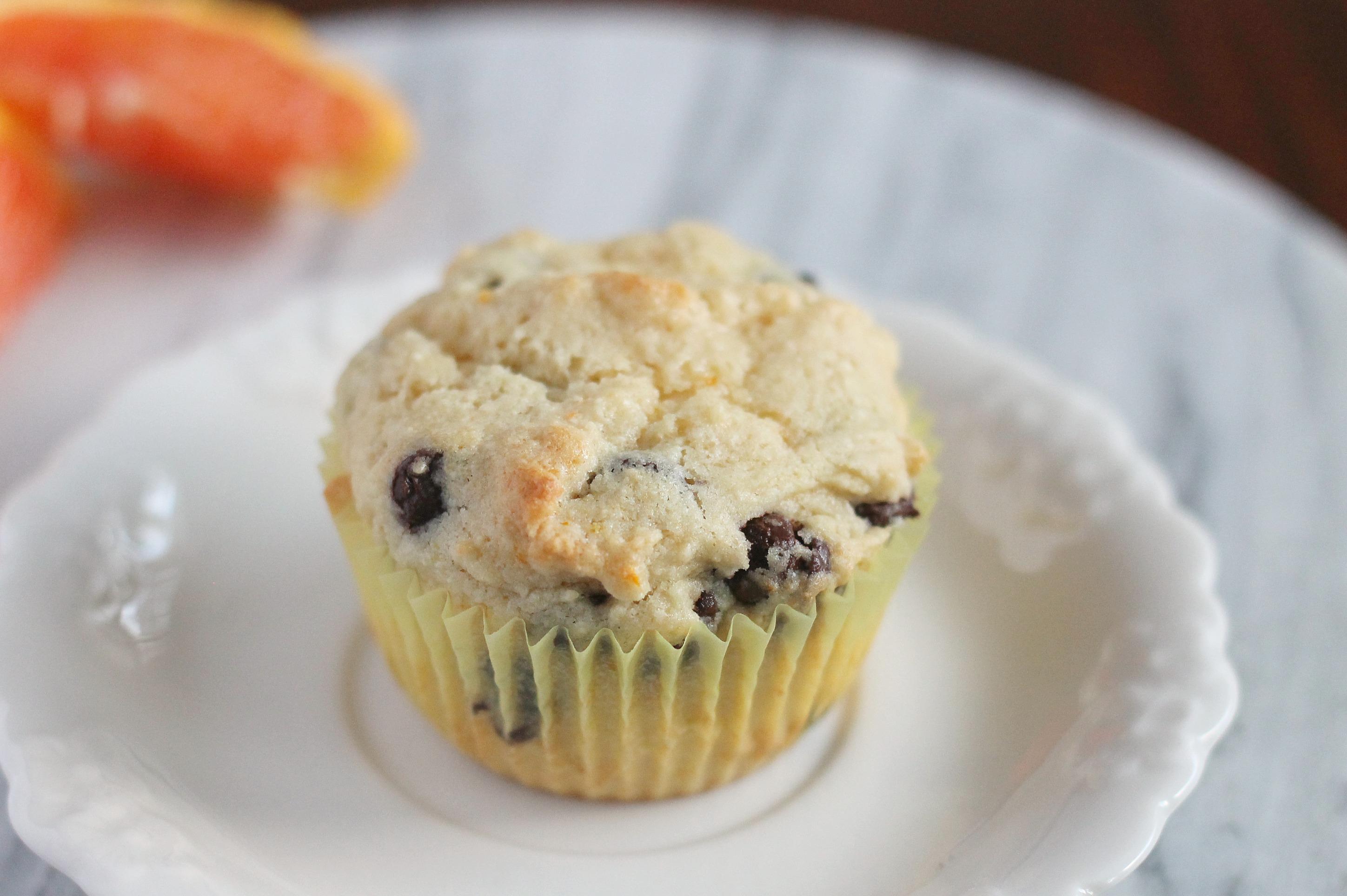Orange Ricotta Chocolate Chip Muffins – We Like Two Cook
